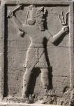 Reliéf s chetitským vojákem