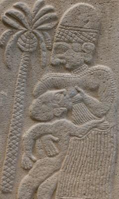 Chetitská žena s dítětem